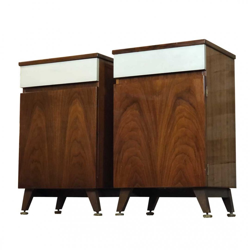 Pair of Meredew Bedside Tables, 1960s