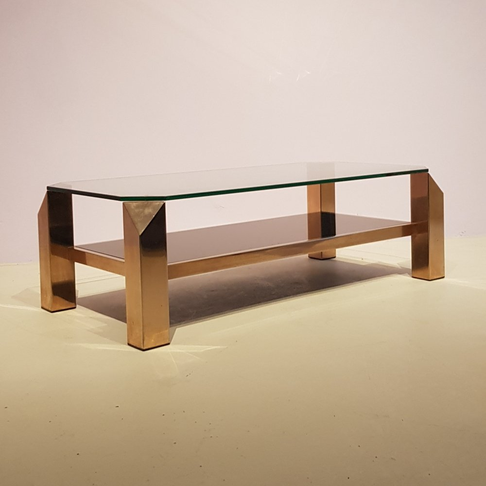 Belgo Chrom 23KT plated Coffee Table