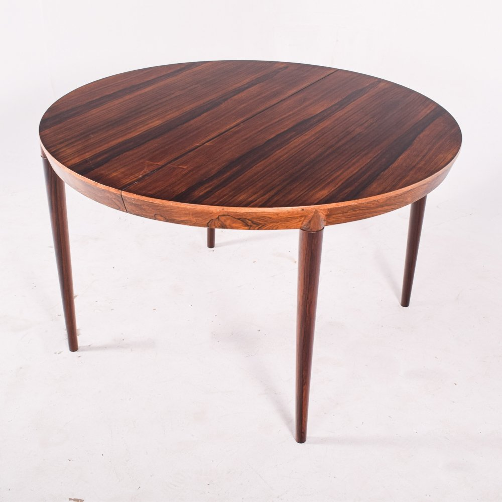 Severin Hansen Jr Model 71 Extendable Dining Table by Haslev