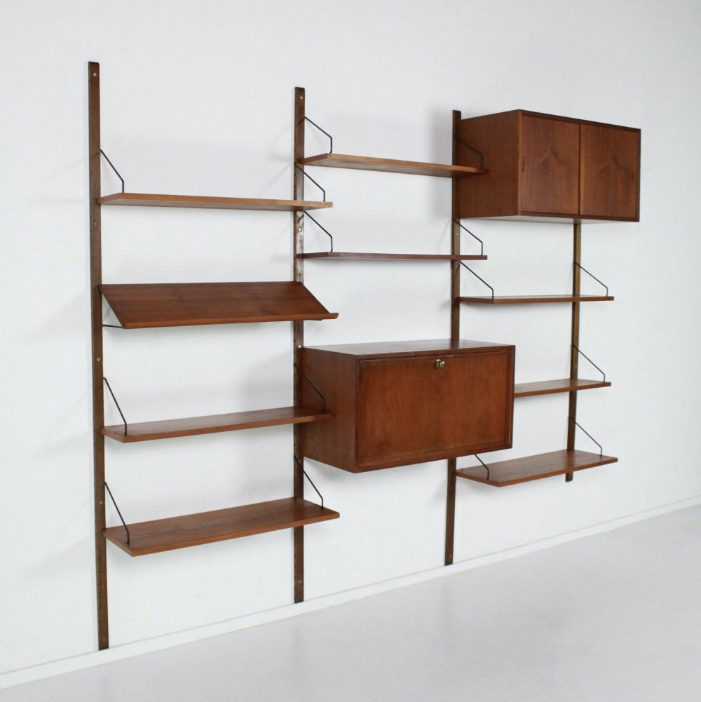 Royal System wall unit by Poul Cadovius for Cado Denmark