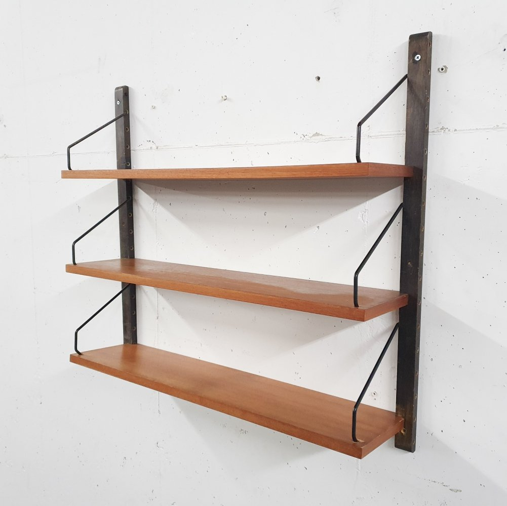 Poul Cadovius for Royal system teak book shelves, Denmark 1950