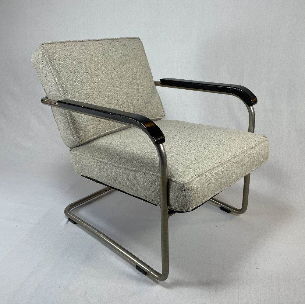 Model 1435 arm chair by Werner Max Moser for Embru, 1930s