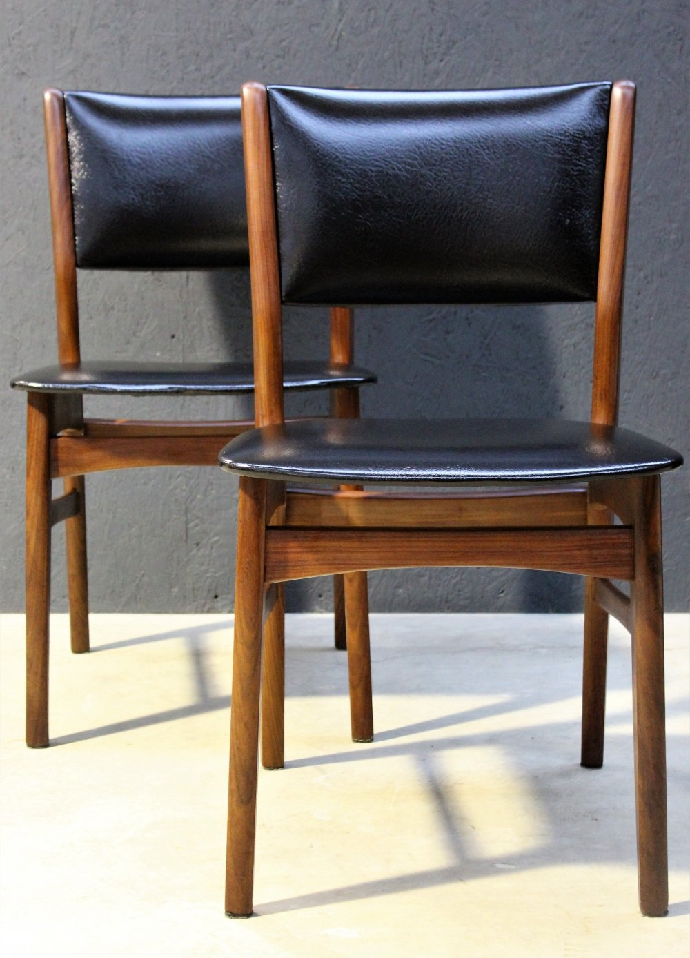 Pair of Bako dining chairs, 1960s