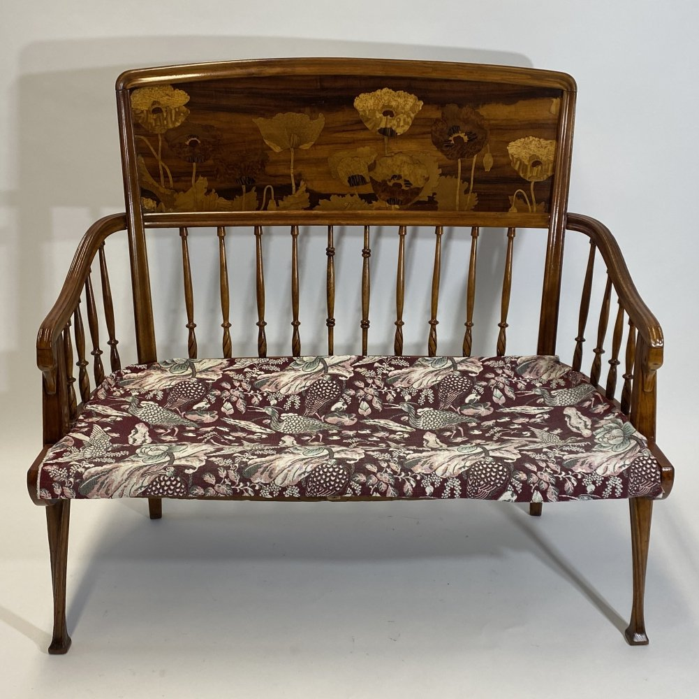 Art nouveau sofa by Louis Majorelle, 1920s
