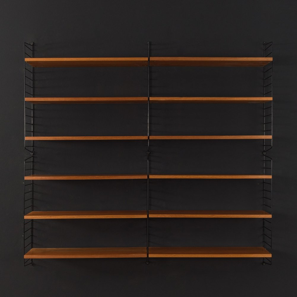 1950s string shelf by Nils Strinning