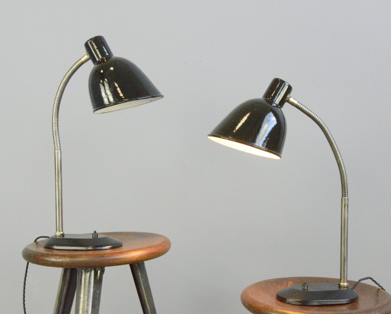 Bauhaus Table Lamps by Elektron, Circa 1930s