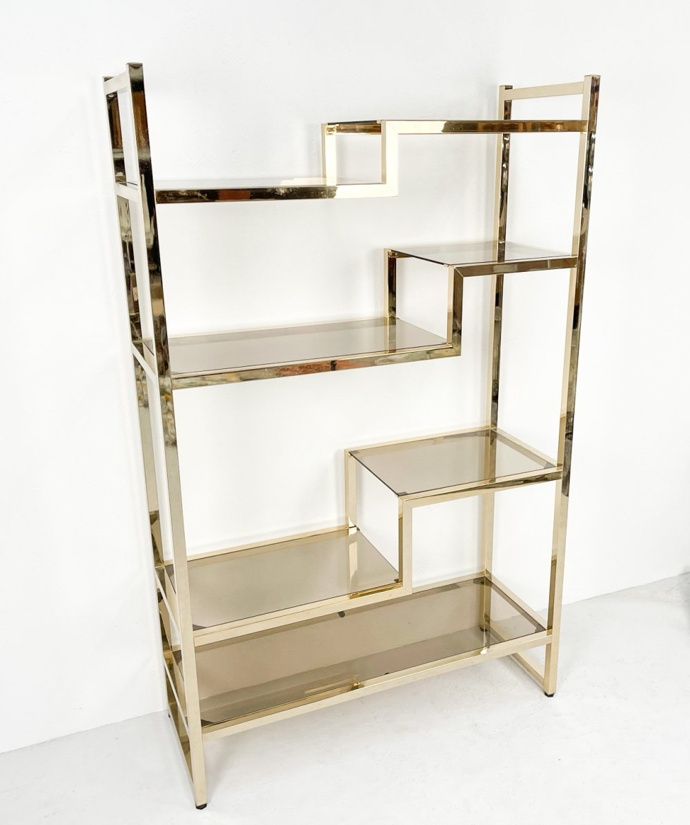 Luxurious brass etagére, 1980s
