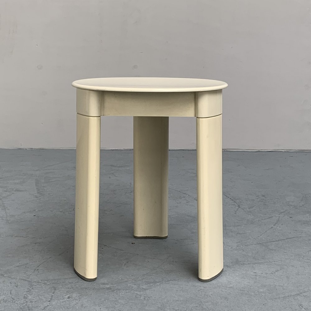 3-legged stool or side table by Olaf von Bohr for Gedy, Italy 1970s