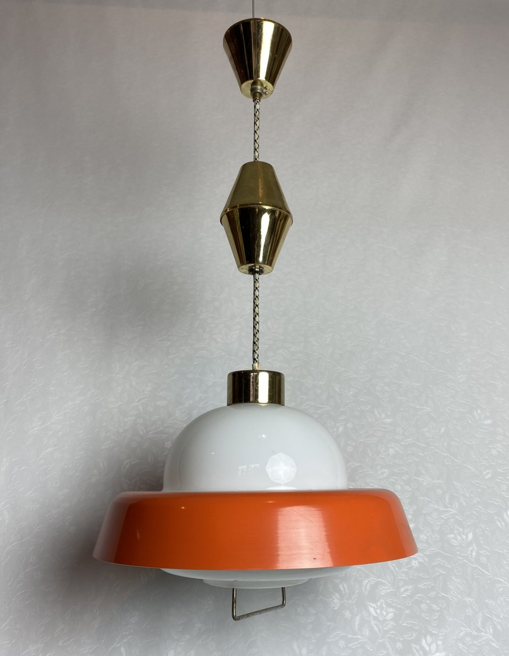 Vintage UFO kitchen lamp, 1970s