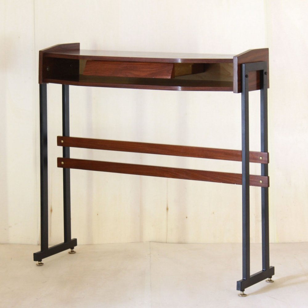 Vintage scandinavian style console table, 1950s