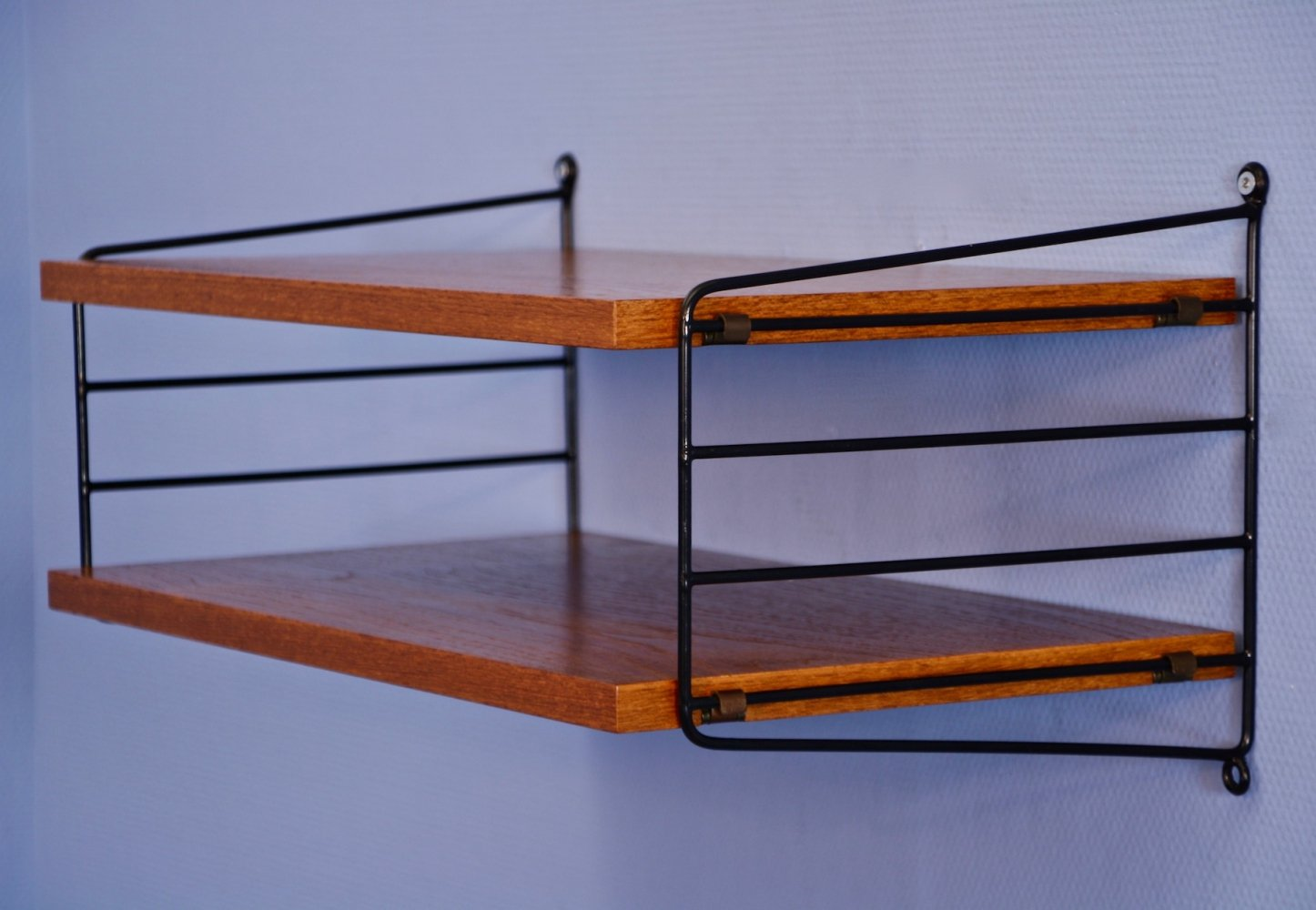 Swedish wall unit by Nisse Strinning for String Design, 1960s