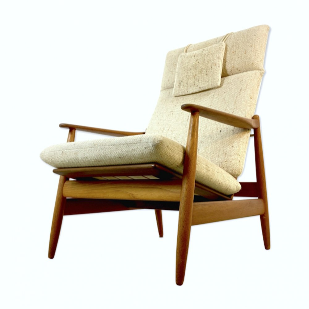 Poul Volther Easy Chair Model 340 for Frem Rolje, 1960s
