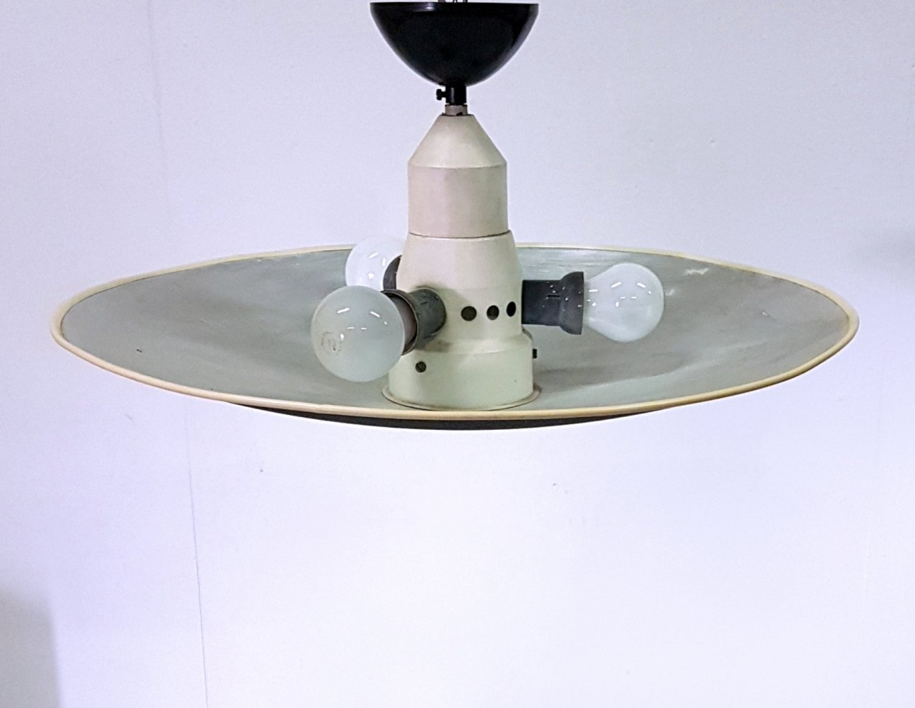 Mid century UFO ceiling lamp by Louis Kalff for Philips, Netherlands 1950s