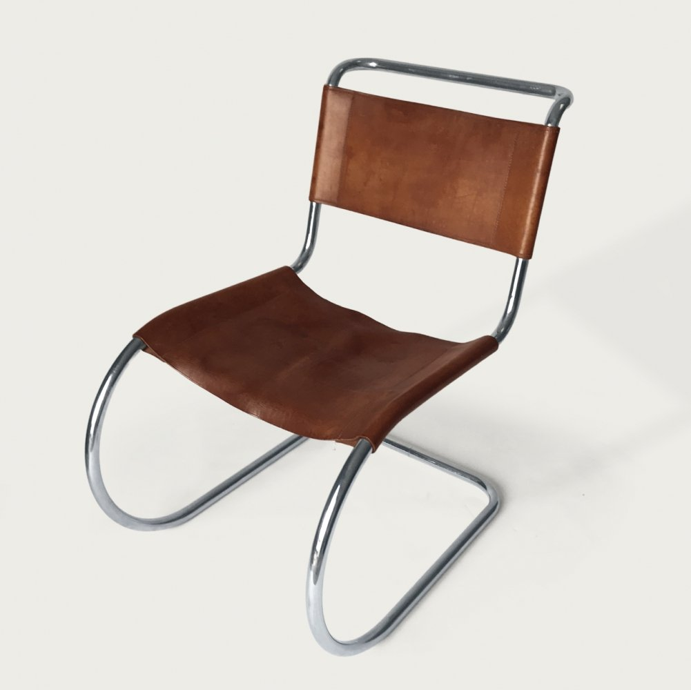 4 x MR10 dining chair by Ludwig Mies van der Rohe for Thonet, 1970s