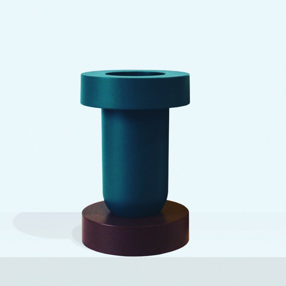 Mirto vase by Ettore Sottsass for Marutomi, 1980s