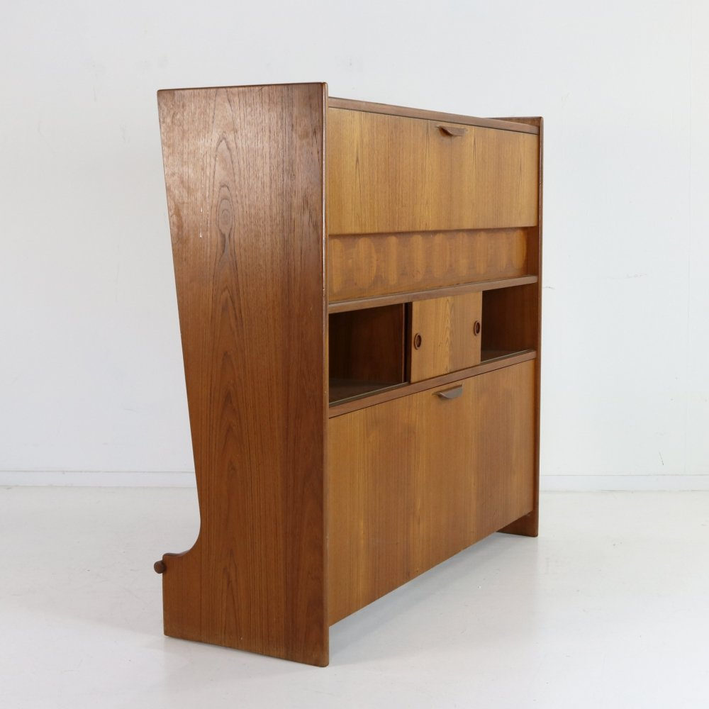SK661 Cocktail Bar by Johannes Andersen for J. Skaaning & Søn, 1950s