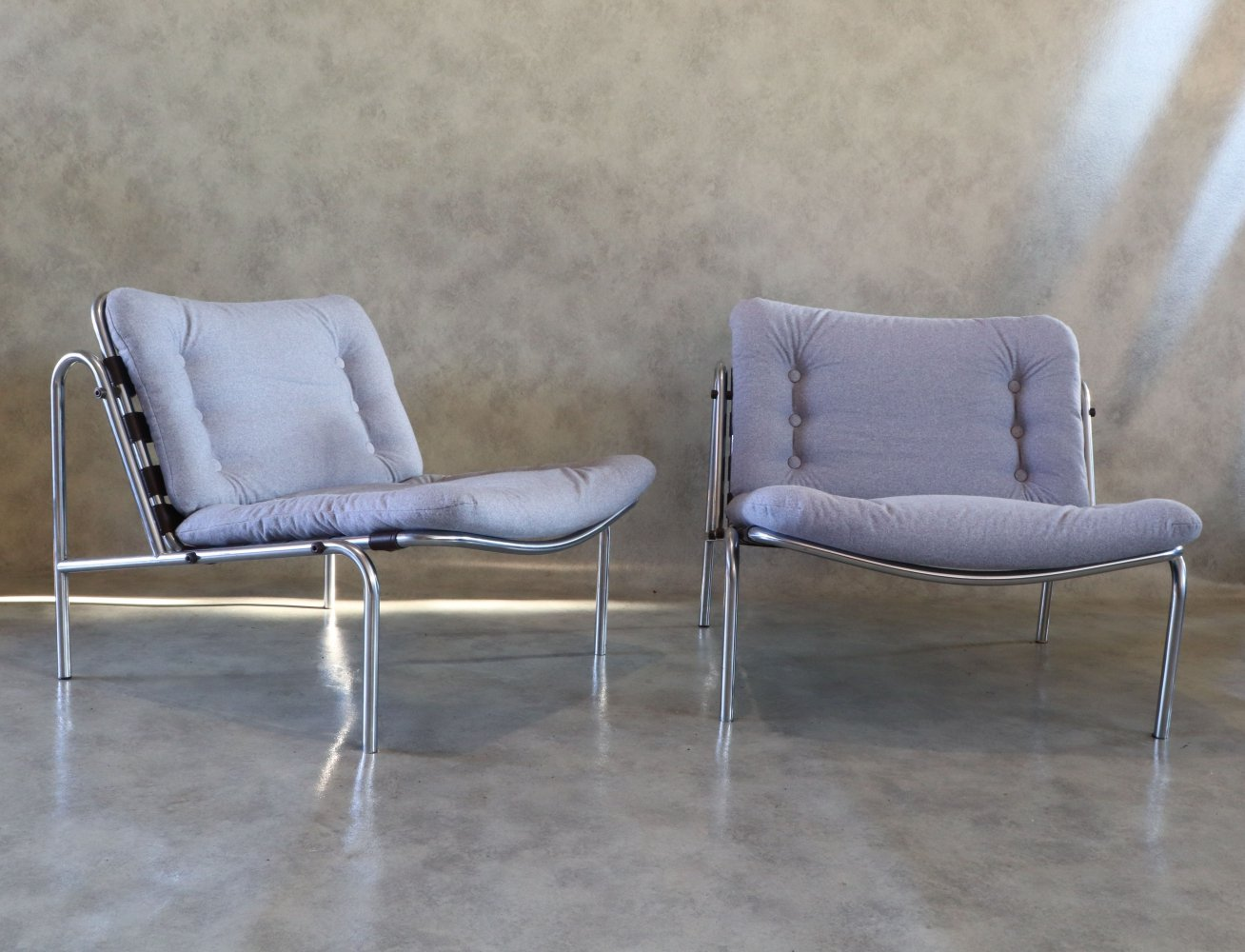 Pair of Kyoto Armchairs by Martin Visser for
