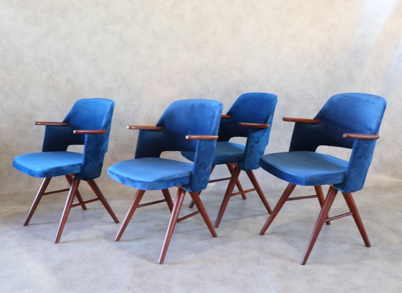 Teak Mid Century Modern FT30 Dining Chairs by Cees Braakman for Pastoe, 1960s