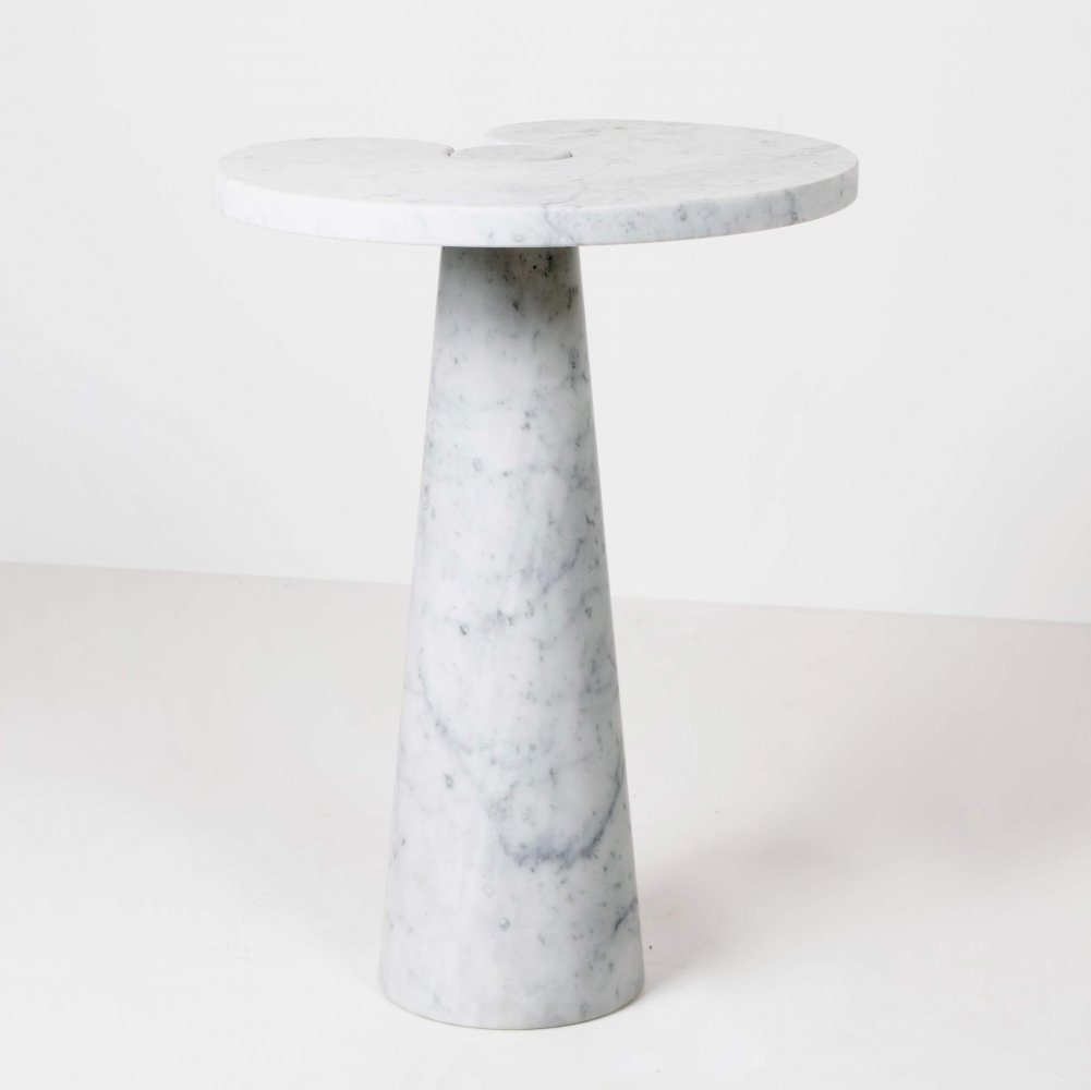 Marble Side Table, Italy 1970s