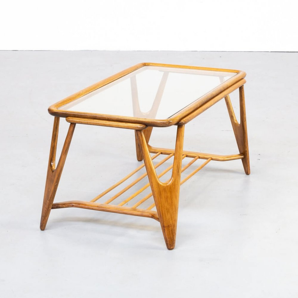 50s Cesare Lacca coffee table for Cassina