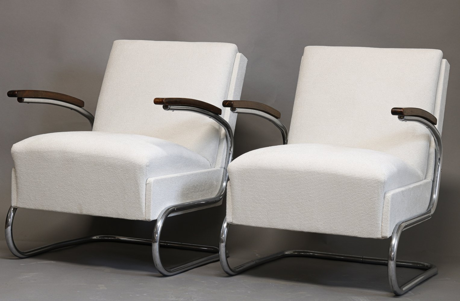 Pair of arm chairs by Marcel Breuer for Mücke Melder, 1930s