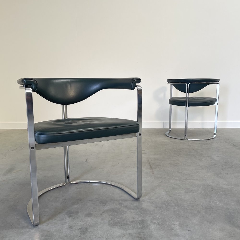 Pair of armchairs by Horst Brüning for Kill International, 1970s