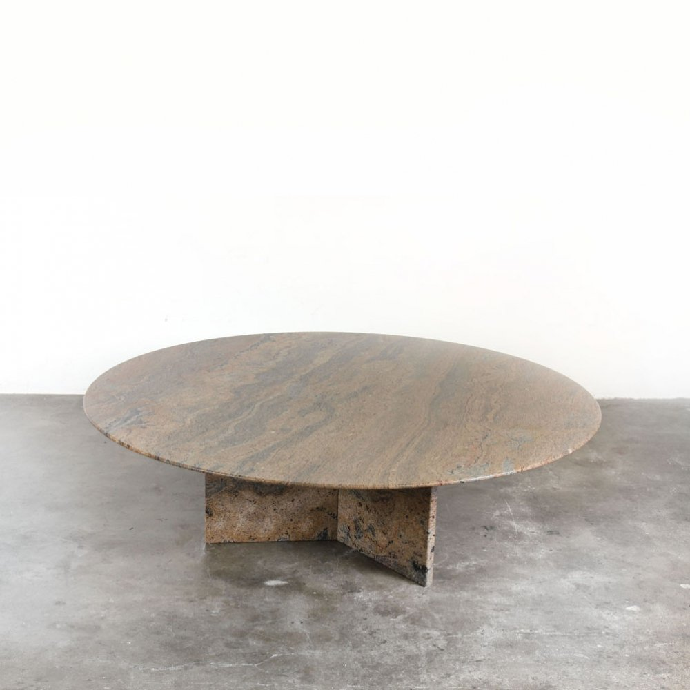 Solid Marble Coffee Table, 1990s