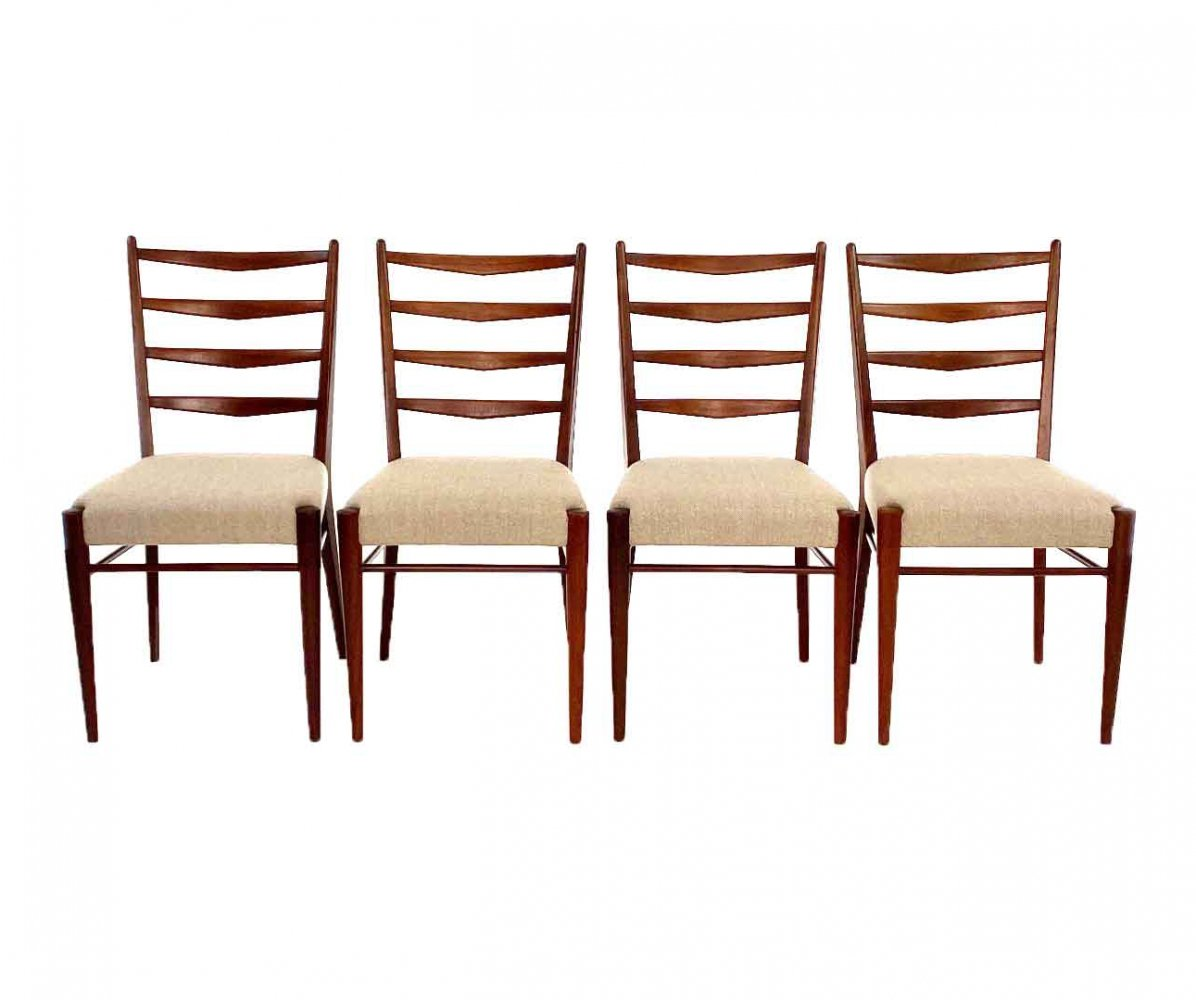 Set of 4 ST09 Dining chairs by Cees Braakman for Pastoe, 1960s