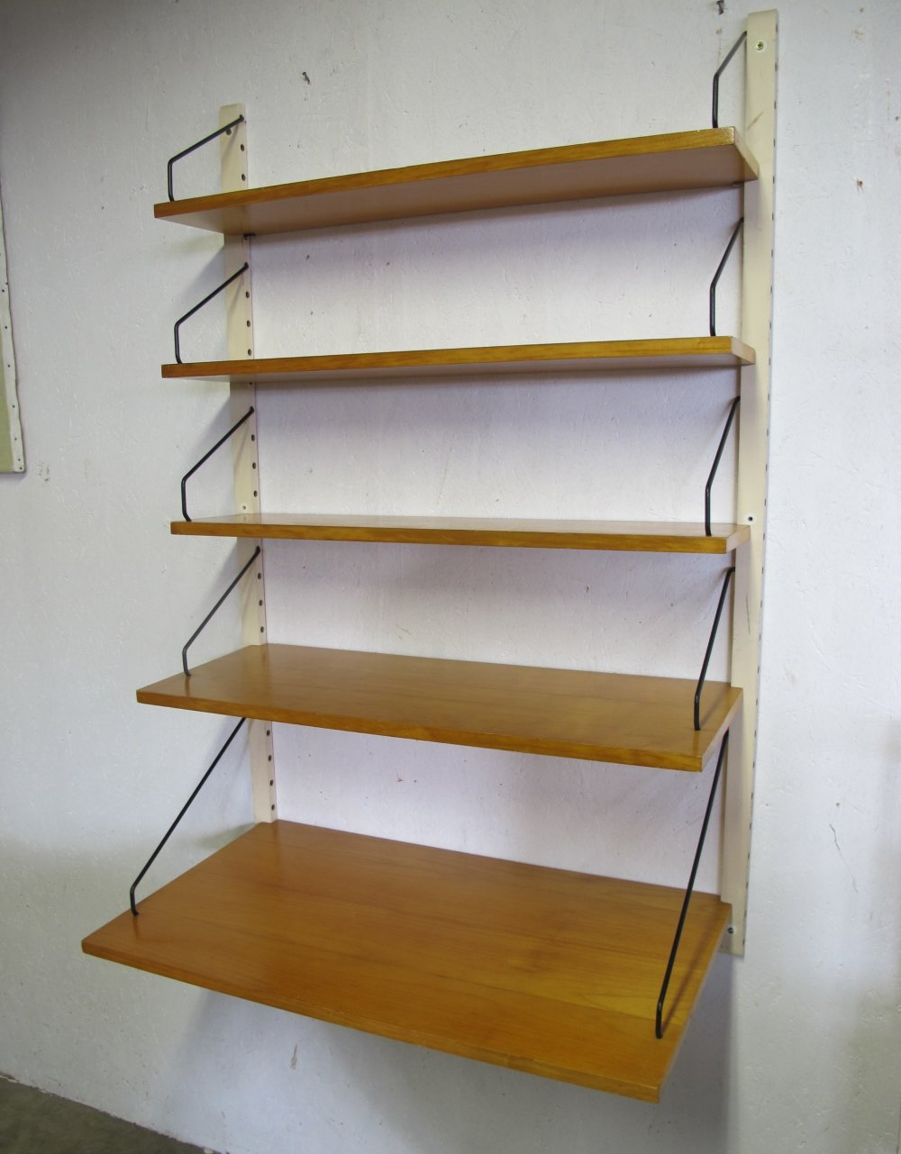 Vintage Walnut Wall Shelf by Poul Cadovius for Royal System, 1960s