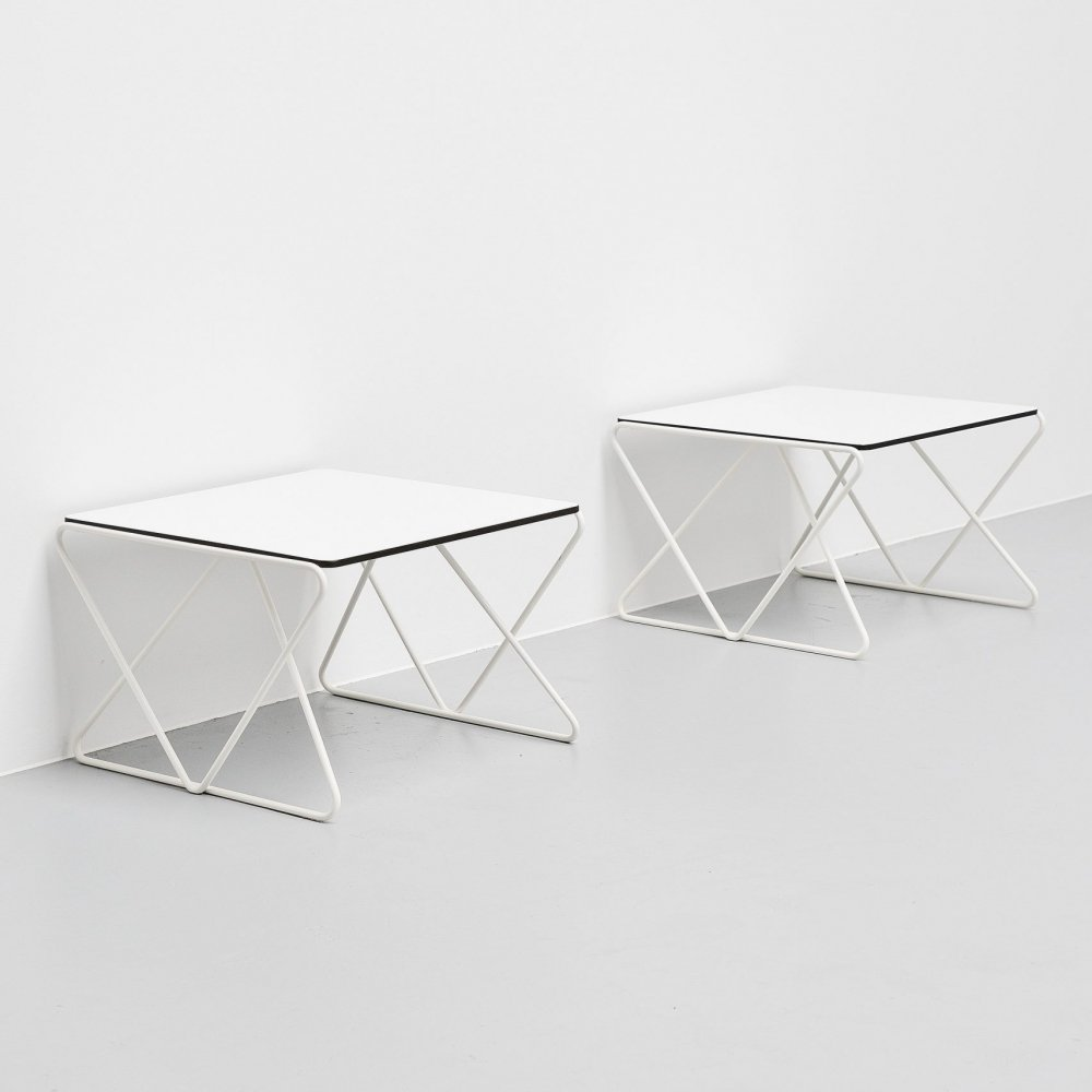 Walter Antonis side tables for I-Form Holland, 1978