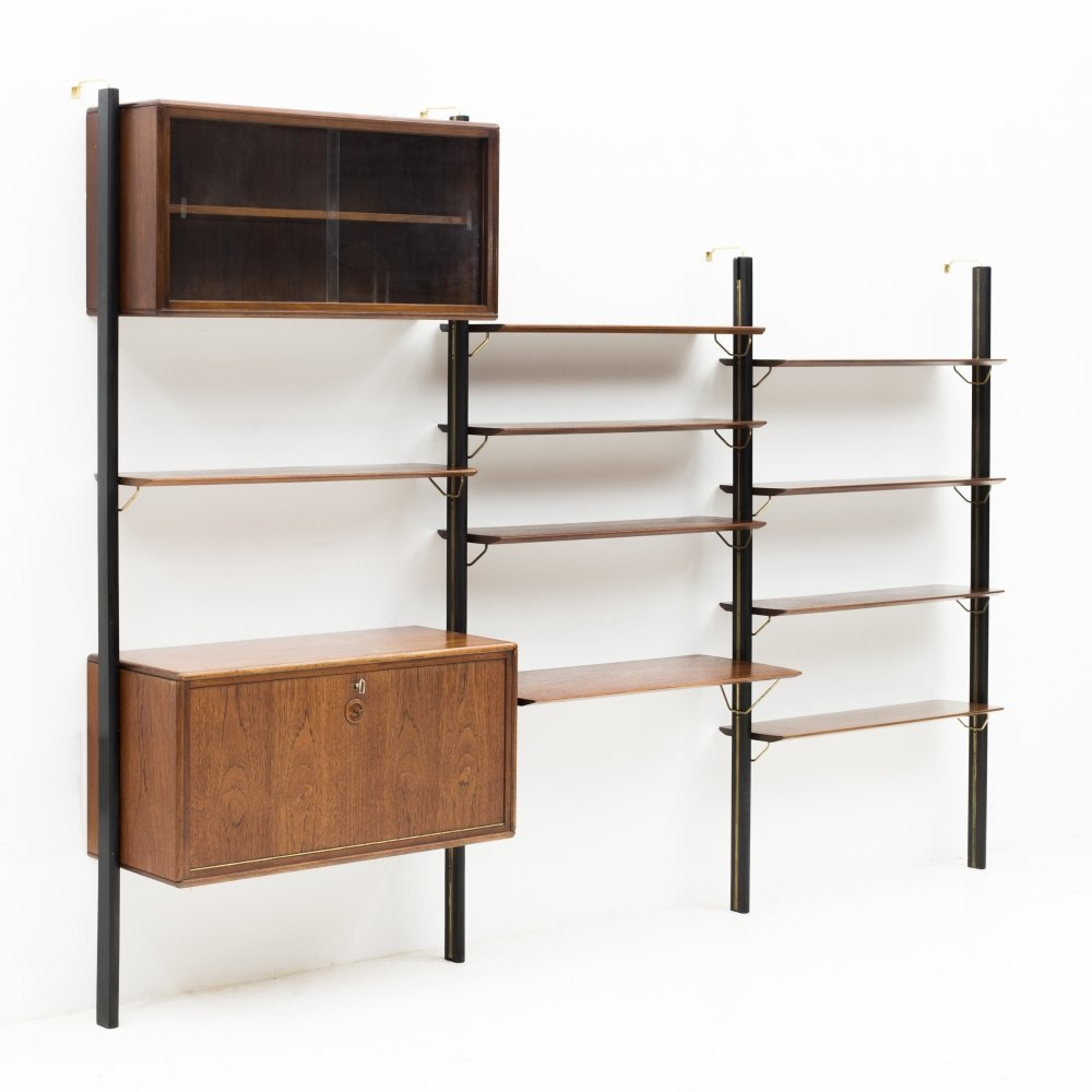 Modular wall unit by William Watting for Fristho, the Netherlands 1960