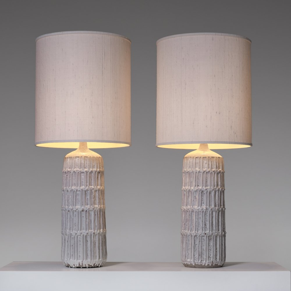 Set of two Large Bitossi table lamps, 1970s
