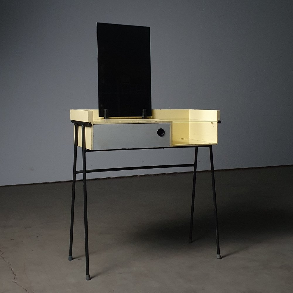 Modernist vanity table designed by Rob Parry