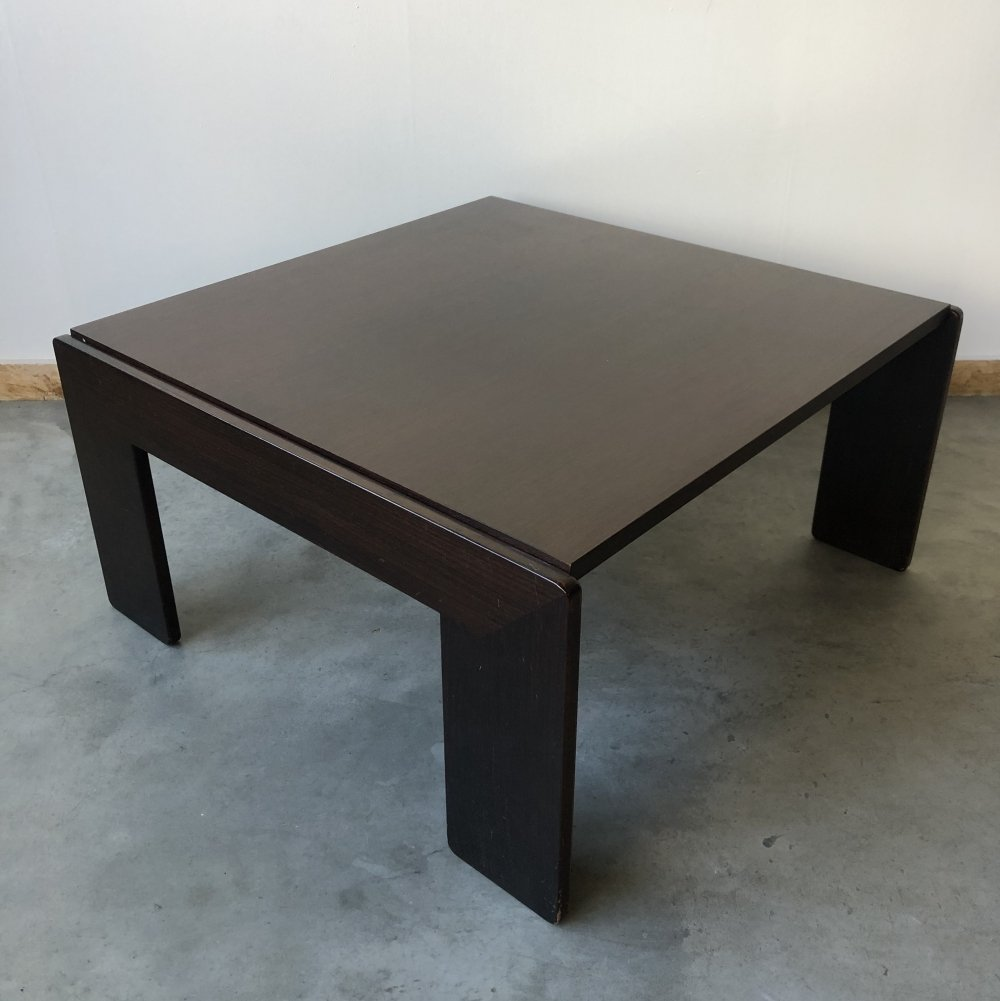 Vintage Bastiano coffee table by Tobia & Afra Scarpa for Gavina, 1960s