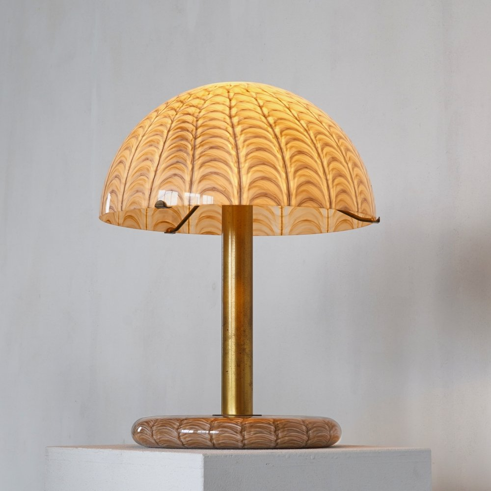 Very Rare Venini Table Lamp by Ludovico Diaz de Santillana