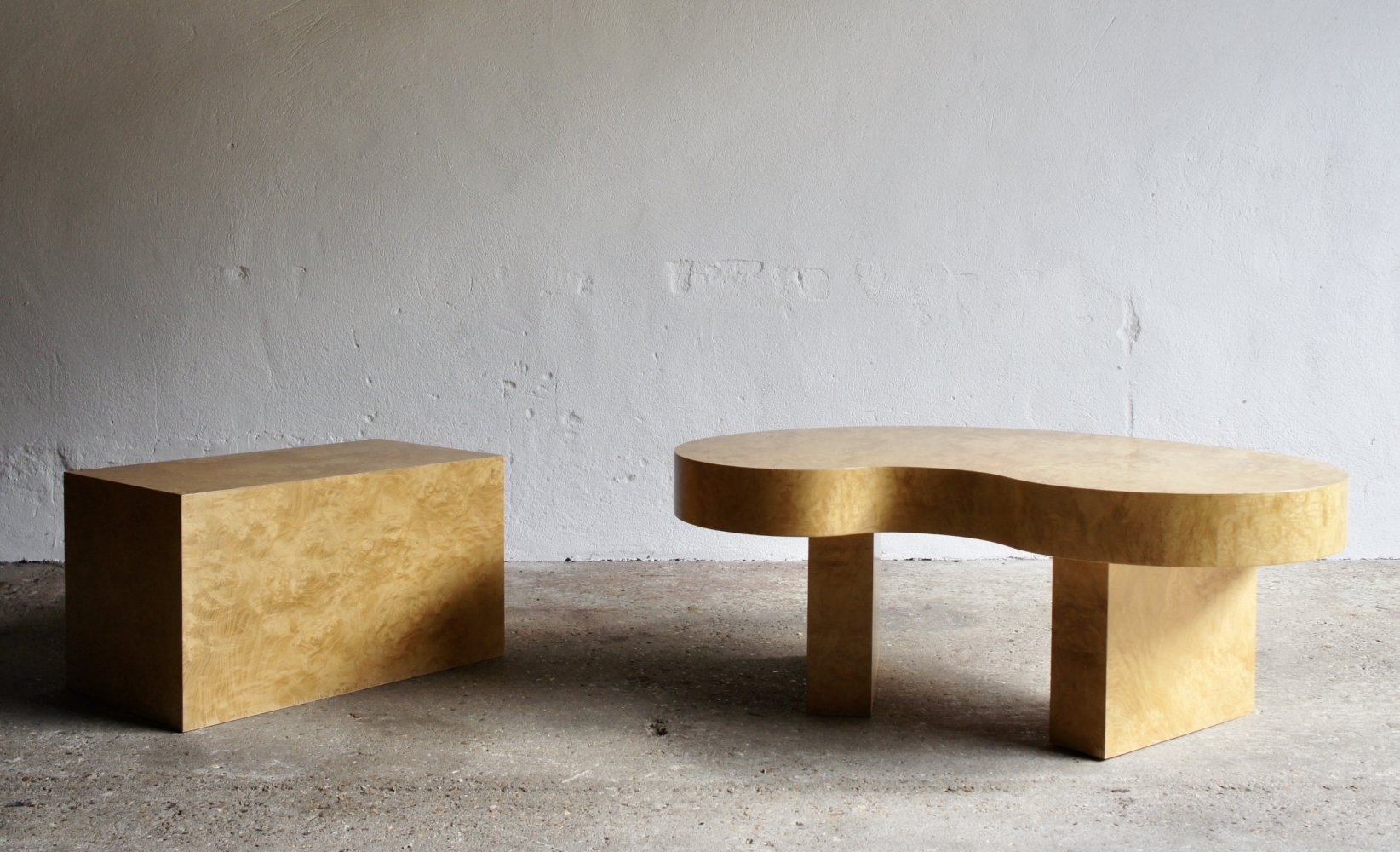 Maple Coffee And Side Table