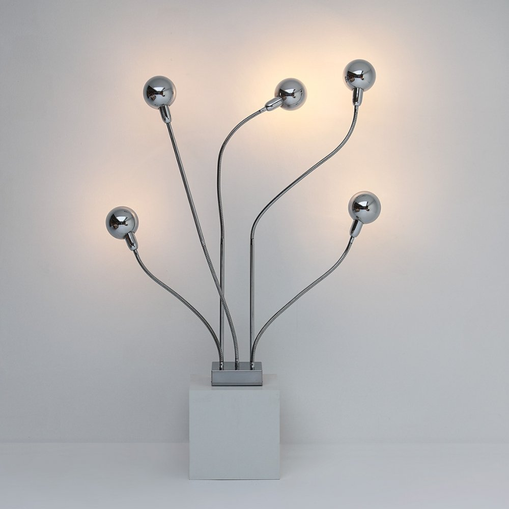 Hydra floor lamp by Pierre Folie for Jacques Charpentier, 1970s