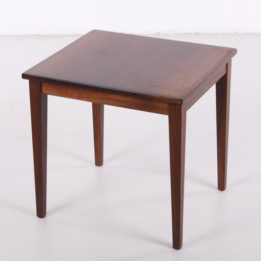 Rosewood plant table or side table, 1960s