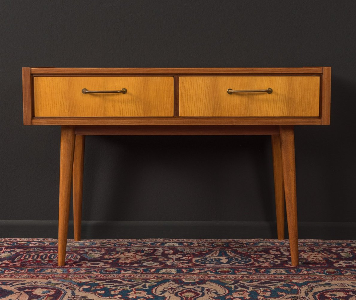 1950s side table with drawers by WK Möbel