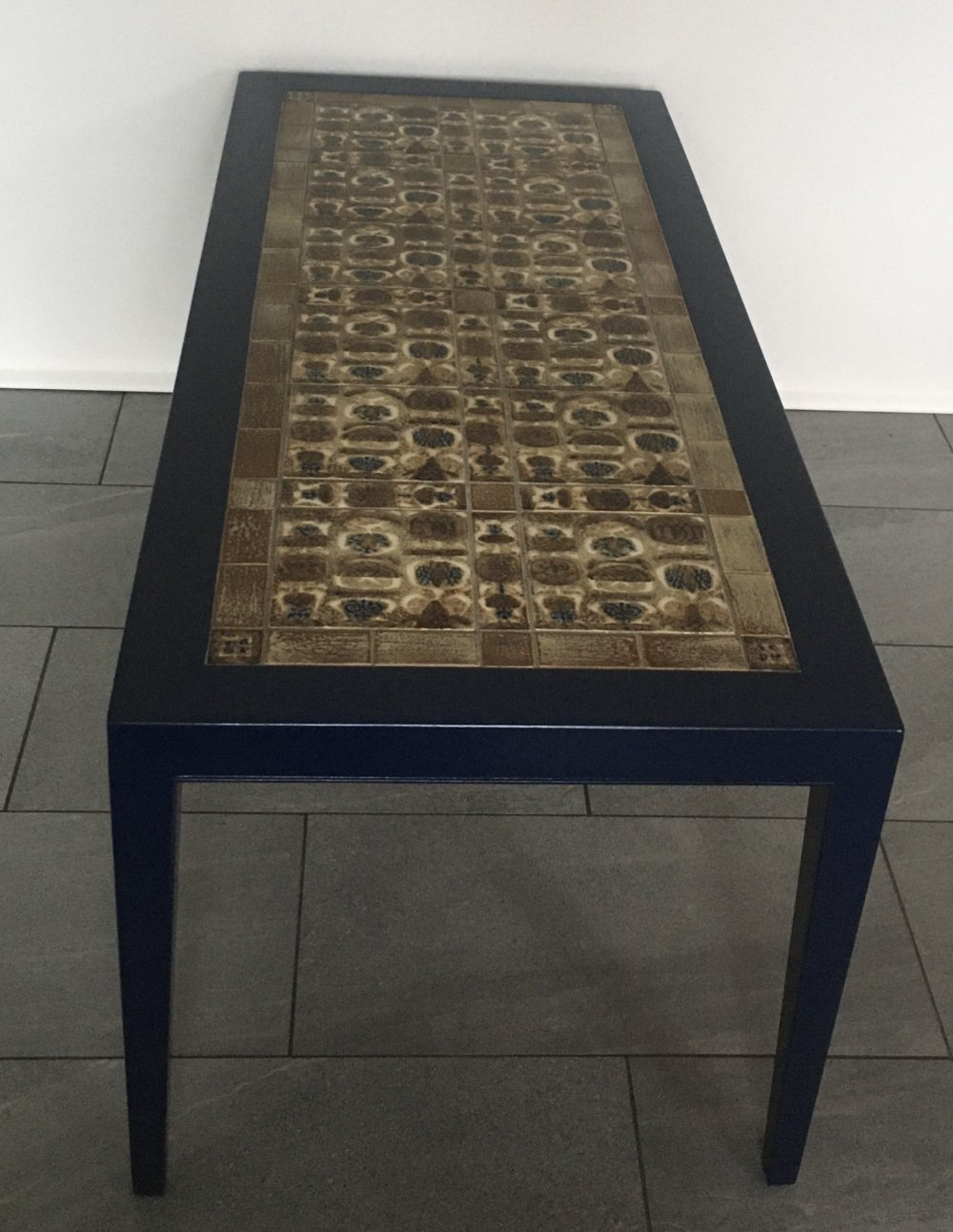 Severin Hansen Coffee table with Baca tiles from Royal Copenhagen
