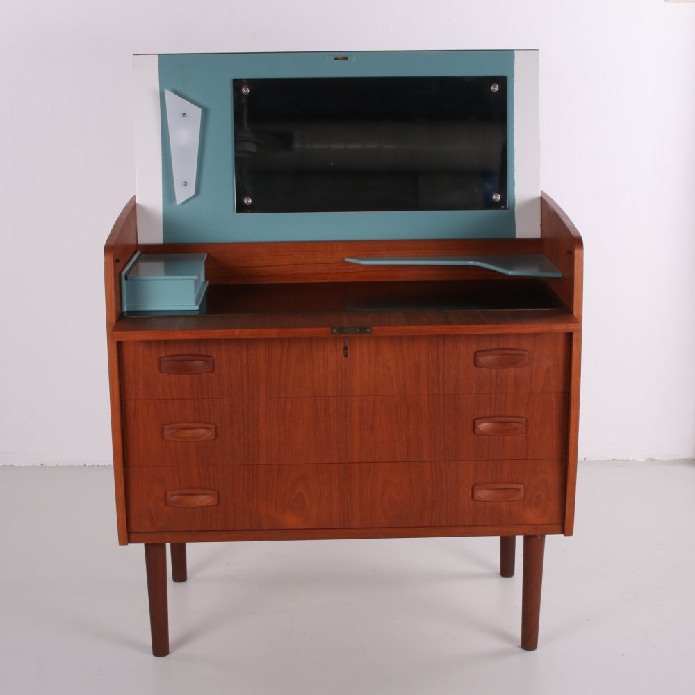 Make up table / chest of drawers by Egon Ostergaard, Denmark 1960s