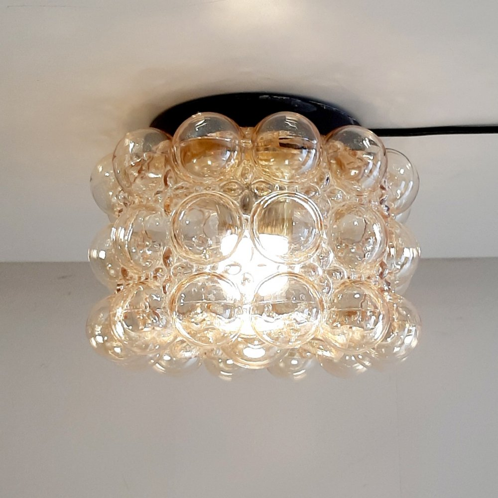 Bubble Ceiling lamp by Helena Tynell, 1960