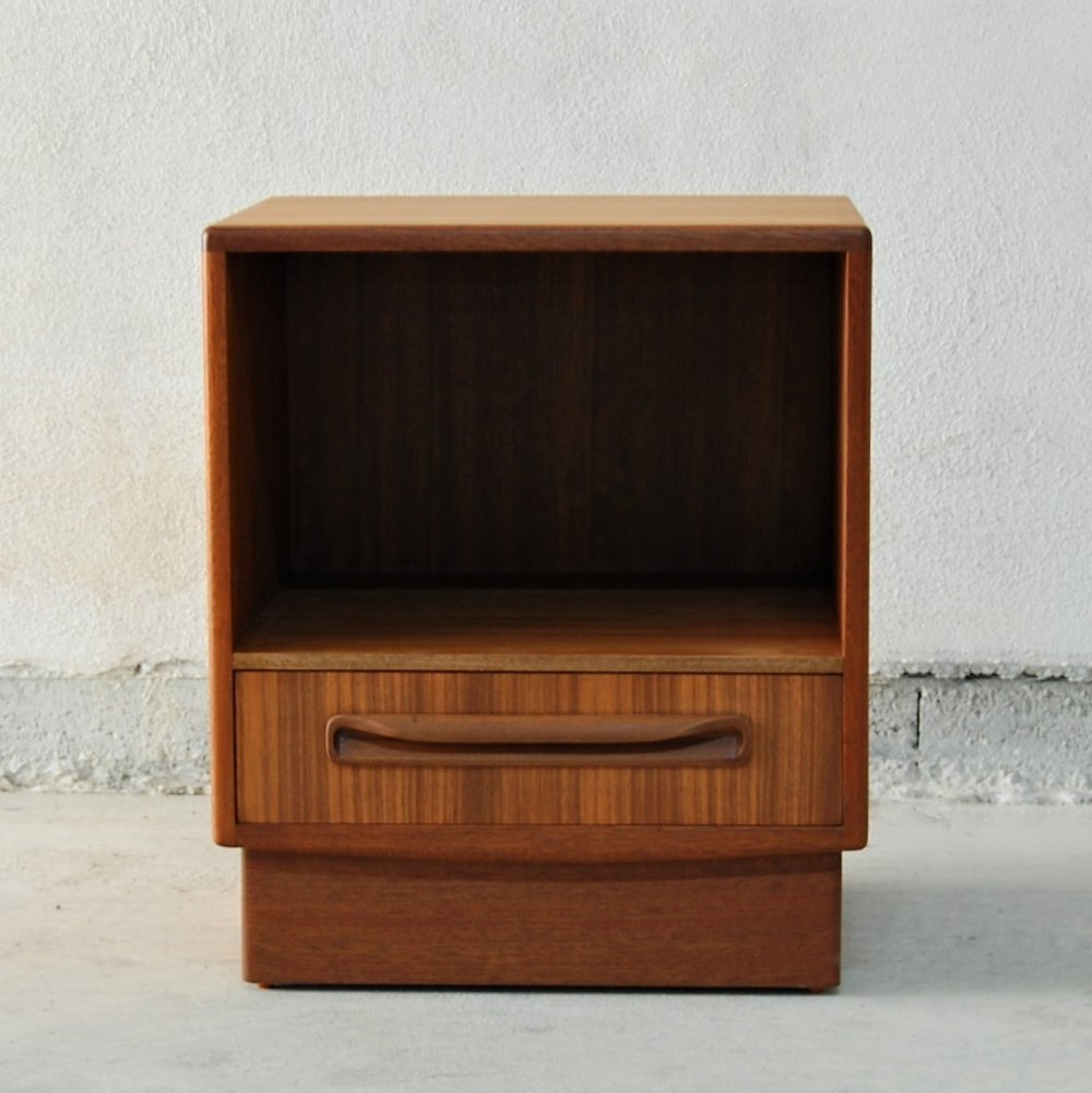 Fresco series bedside table cabinet by G Plan, 1960s