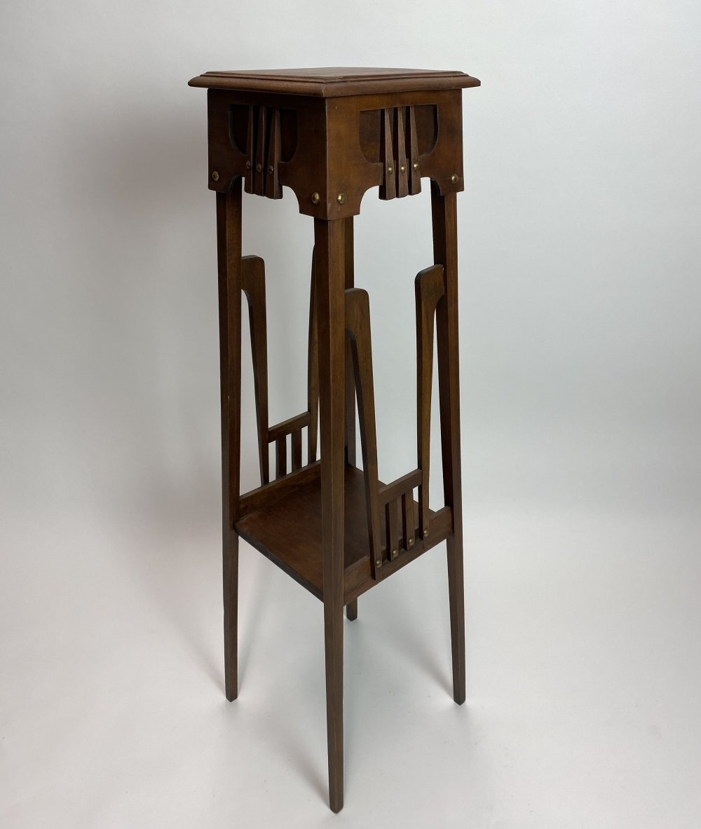 Secession flower stand by Gustave Serrurier Bovy