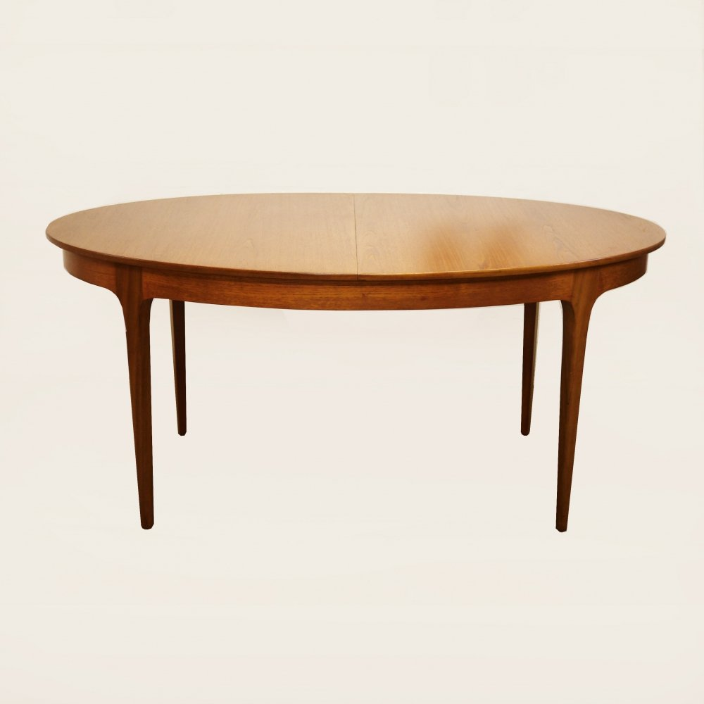 Vintage Teak S Form Dining Table by Sutcliffe of Todmorden, 1960s