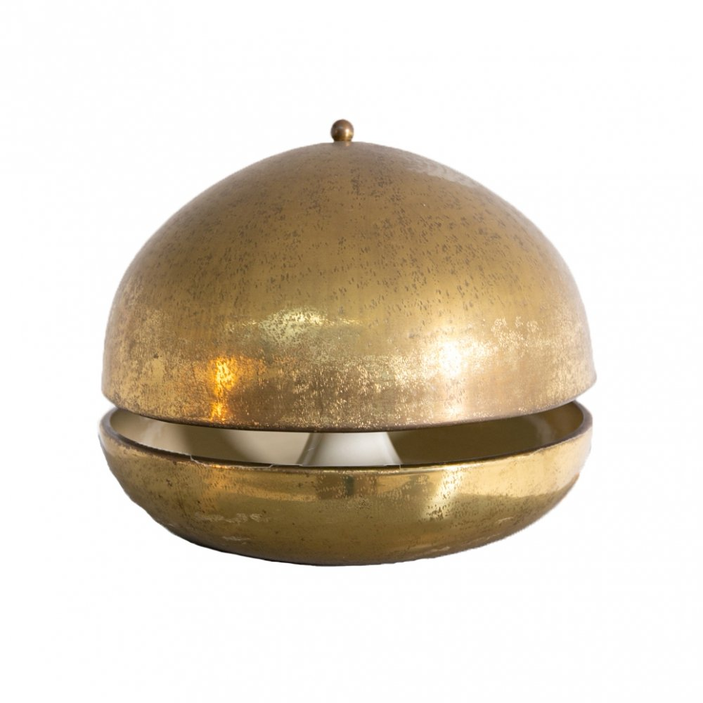 Italian Table Lamp in Brass, 1960s