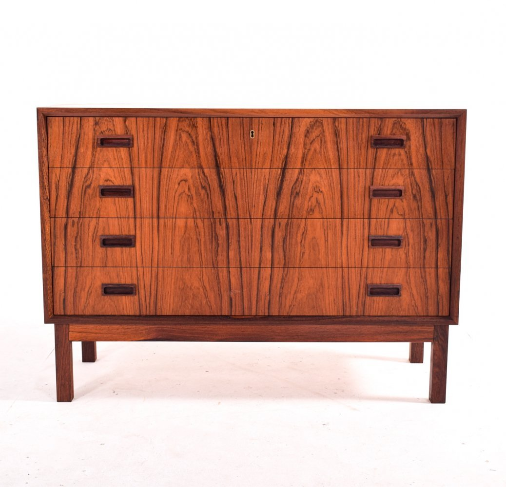 Mid Century Danish Chest of Drawers in Rosewood, 1960