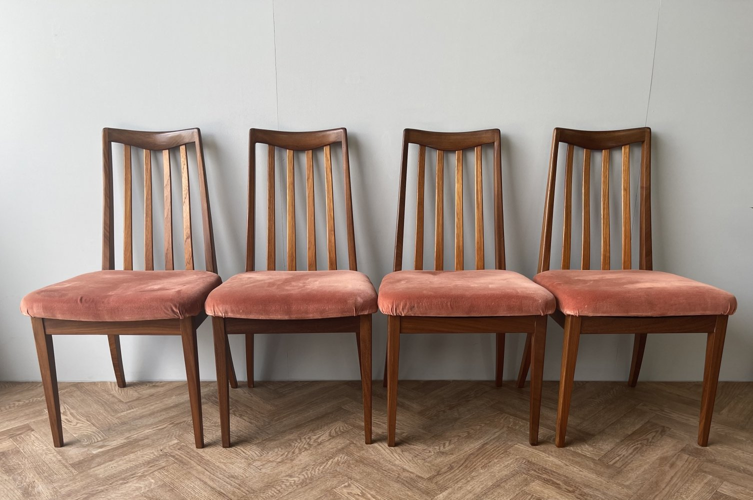 Set of 4 G Plan Fresco Vintage Dining Chairs, 1960s