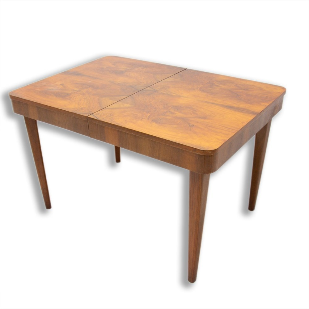 Mid century adjustable Dining Table by Jindřich Halabala, 1950s