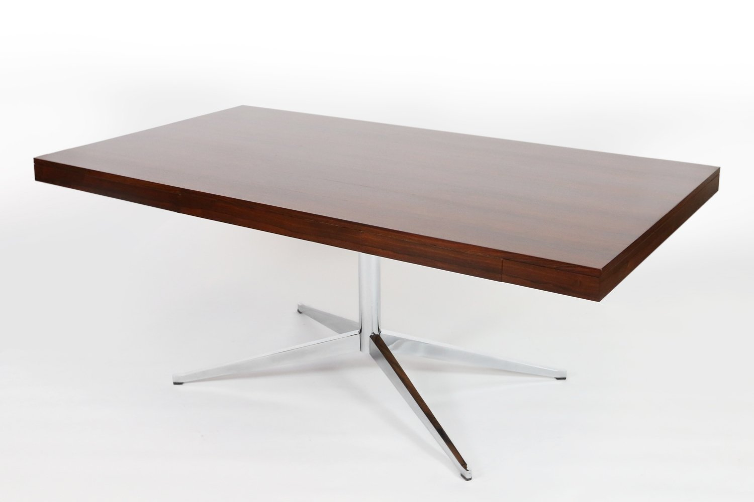 Vintage Florence Knoll Partners Desk or Executive Table in Rosewood, 1960s
